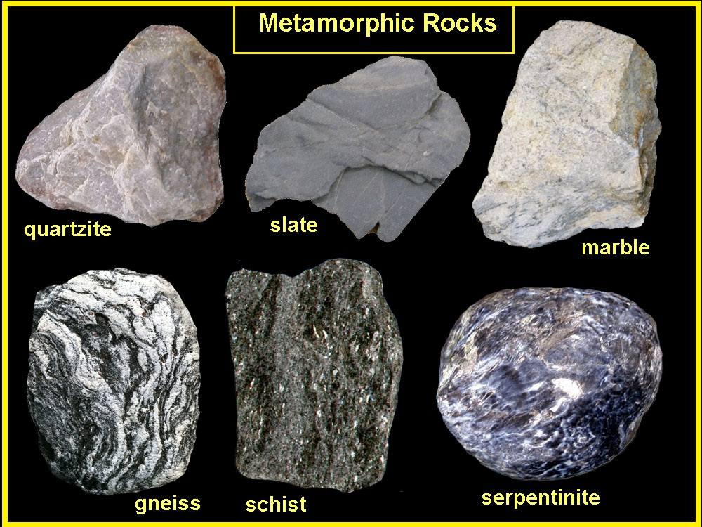 metamorphic rock essay A mineral is a naturally occurring substance that is solid and stable at room temperature, representable by a chemical formula according to the geological significance igneous and metamorphic rocks make up 90-95% of the top 16 km of the earth's crust by volume it has been found that there is an.